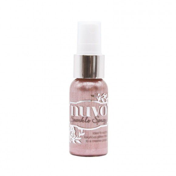 Sparkle spray, Nuvo, Blush burst, 30ml