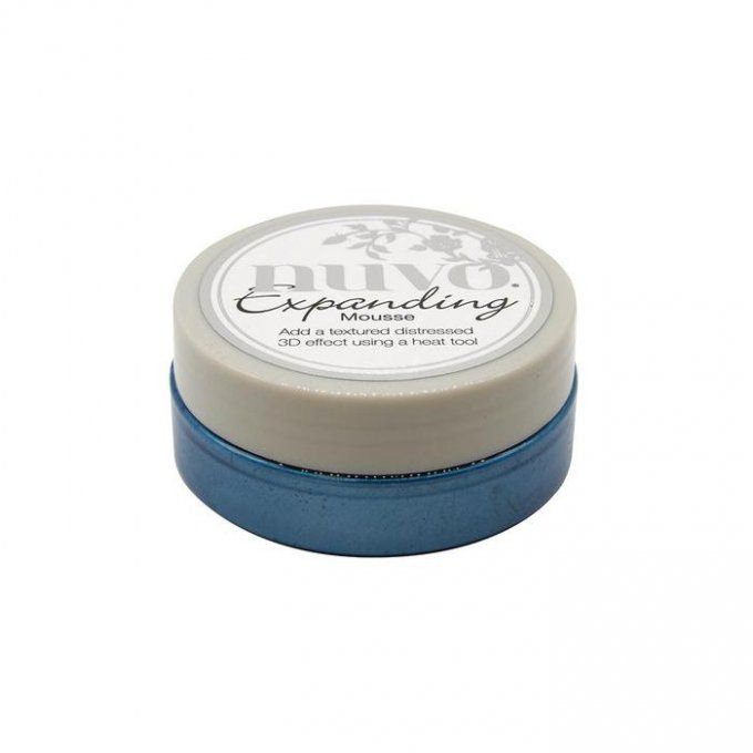 Nuvo, Expanding mousse, couleur Boatyard Blue