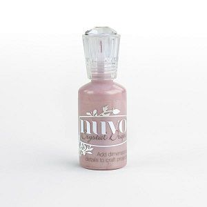 Nuvo, crystal drops Gloss - Raspberry pink (rose shabby)