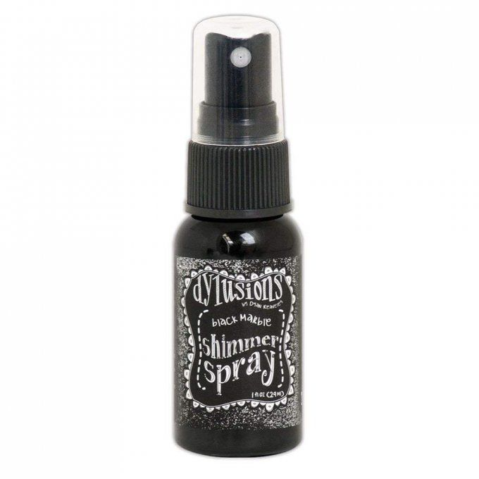 Shimmer Spray Dylusions - Black marble - 29ml