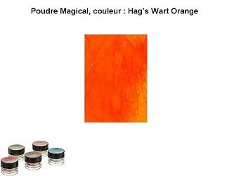 Pigment Magical, Lindy's, couleur Hag's Wart Orange