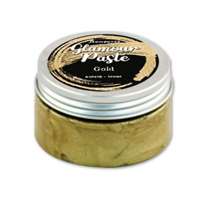 Glamour paste, Stamperia - Gold - paillettes fines