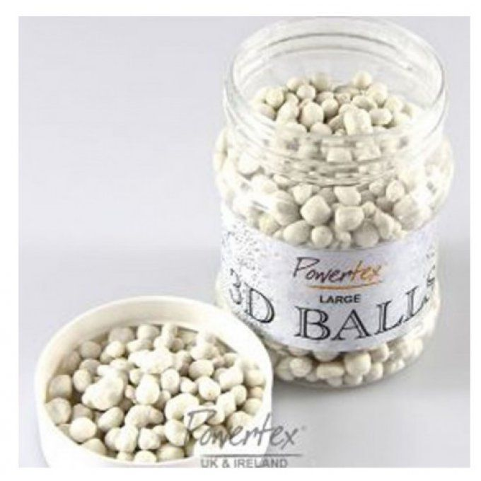 Balls 3D, Powertex, large, cailloux, 230ml