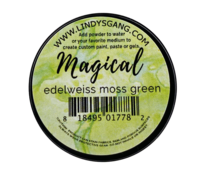 Pigment Magical, Lindy's, couleur Edelweiss Moss green