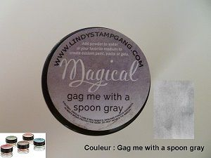 Pigment Magical, Lindy's, couleur Gag me with a spoon gray