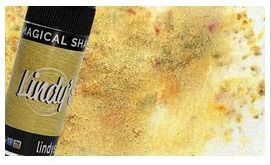 Pigment Magical shaker, Lindy's, couleur Glittering gold