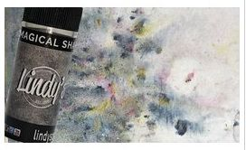 Pigment Magical shaker, Lindy's, couleur Stormy silver