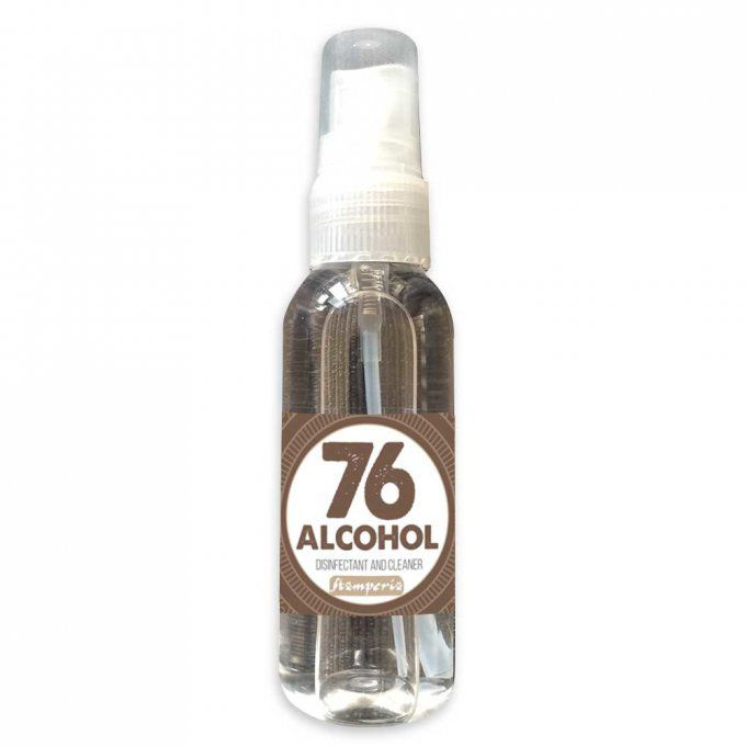Nettoyant à base d'alcool, Stamperia (minimum 76% d'alcool) - 60ml