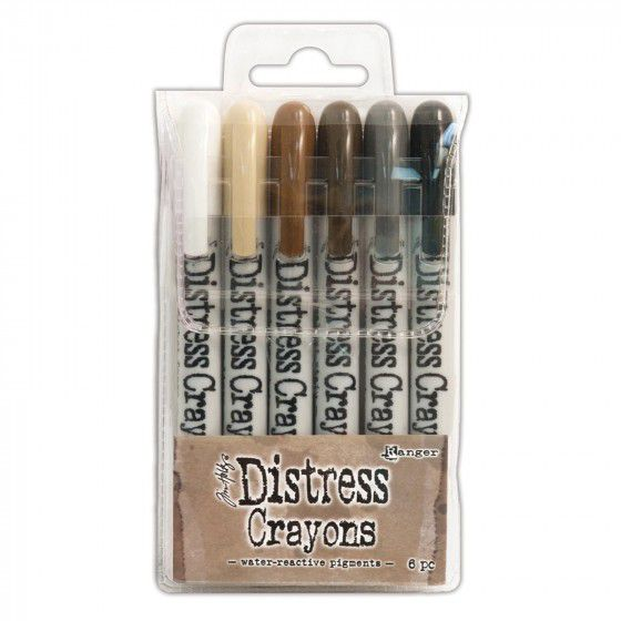 Crayons distress, Ranger, set n°3