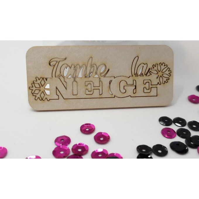 Chipboard : Tombe la neige