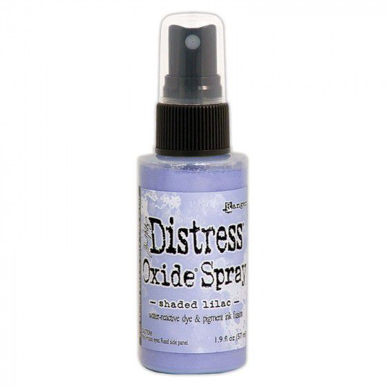 Distress spray oxide : Shaded lilac